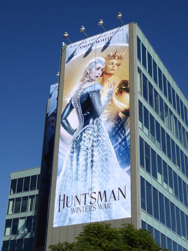 Giant Huntsman Winters War movie billboard