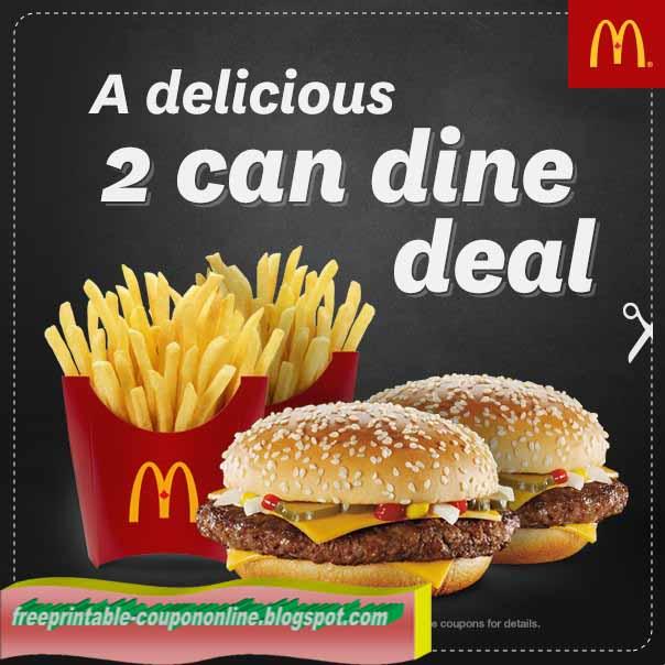 Mcdonalds coupons nz
