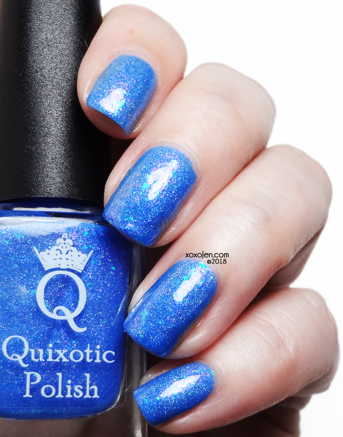 xoxoJen's swatch of Quixotic Indigo On Your Chiclets