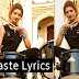 Vaaste Lyrics Dhvani Bhanushali Nikhil DSouza Tanishk Bagchi