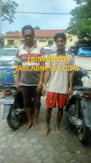 Dua tersangka curanmor di Batubara.