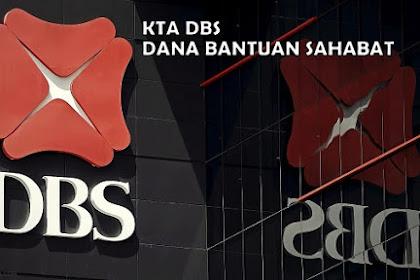 Dana Bantuan Sahabat: KTA Bank DBS dengan Bunga Rendah