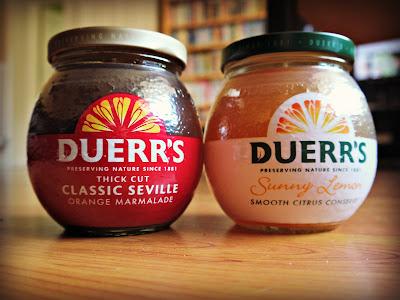marmalad, Duerrs, jars
