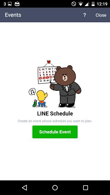 Cara Membuat Event Di Line