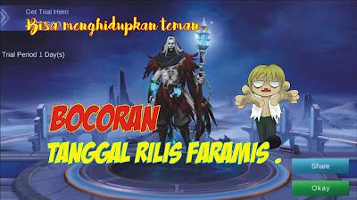 Hero Support Faramis Mobile Legends: Bang Bang