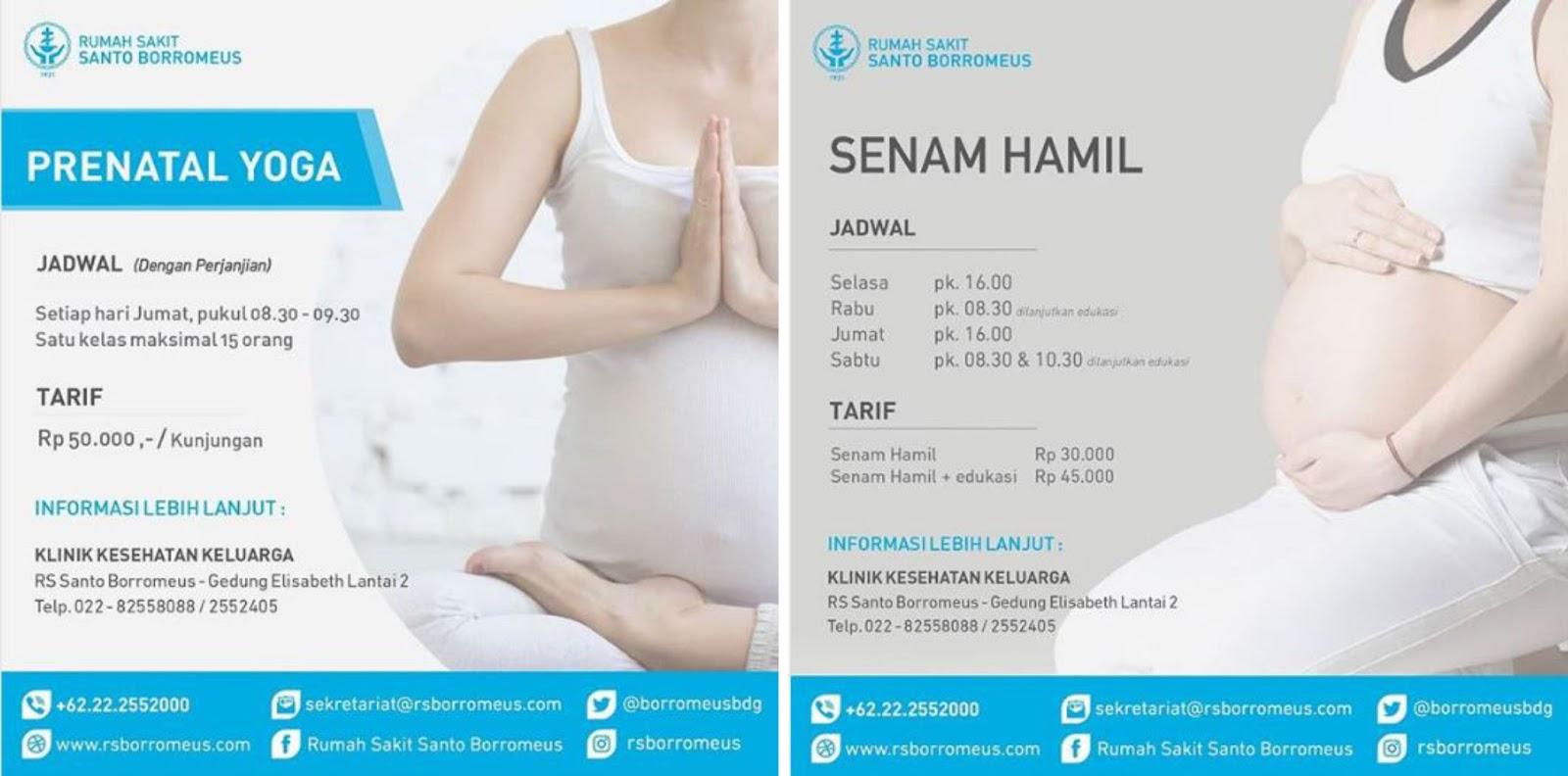 Prenatal Yoga dan Senam Hamil di Bandung
