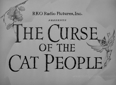 The Curse of the Cat People title card