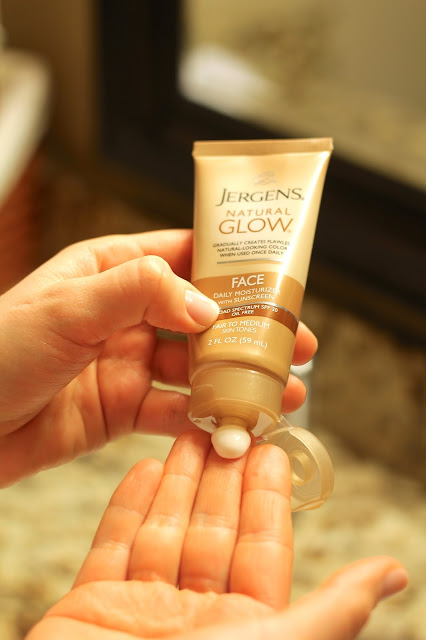 Jergens Natural Glow firming moisturizer, facial moisturizer