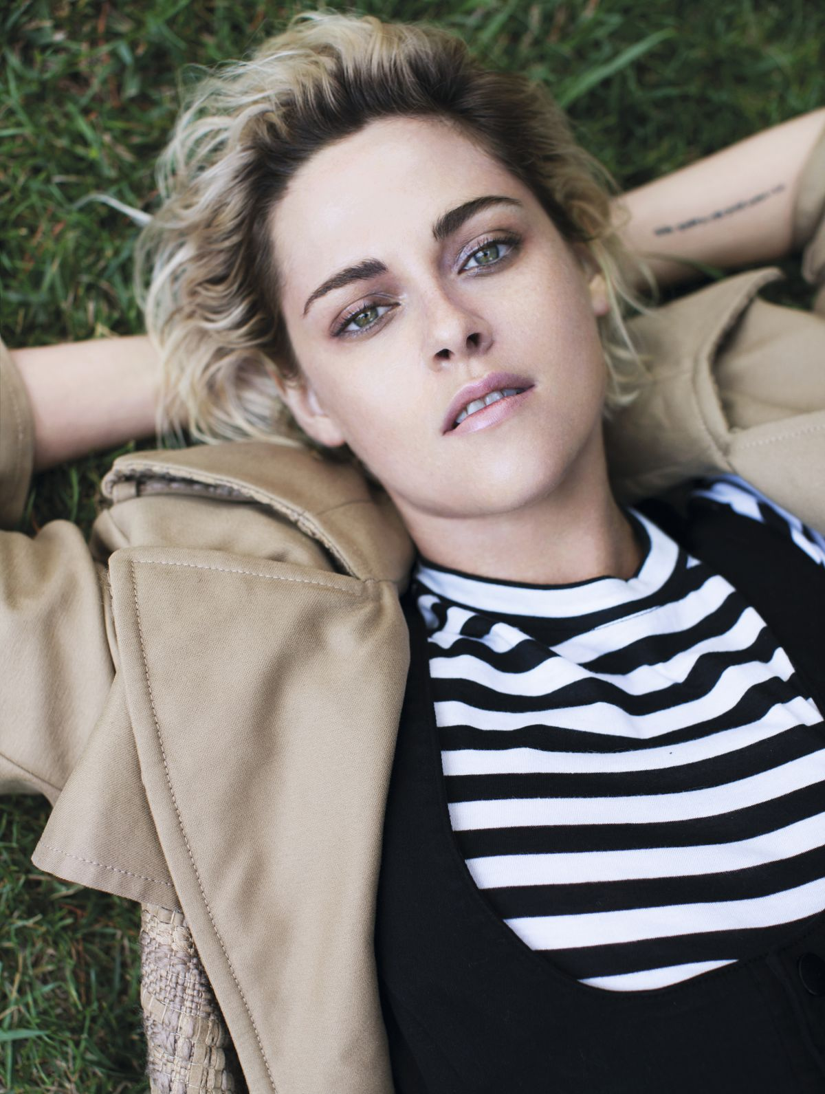 Kristen Stewart Photo Shoot for Elle Magazine UK September 2016