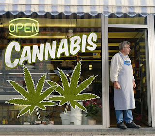 Cannabis sales outlet worldwide