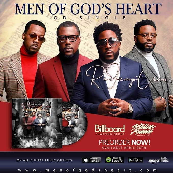 Pre-Order - Men Of God's Heart (Redemption)