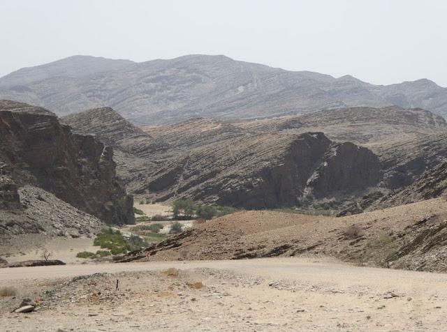 Panorama al Kuiseb Pass