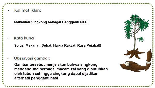 Singkong Sebagai Pengganti Nasi.
