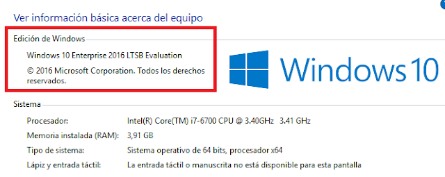 Windows: 10 LTSB ¿Qué es?