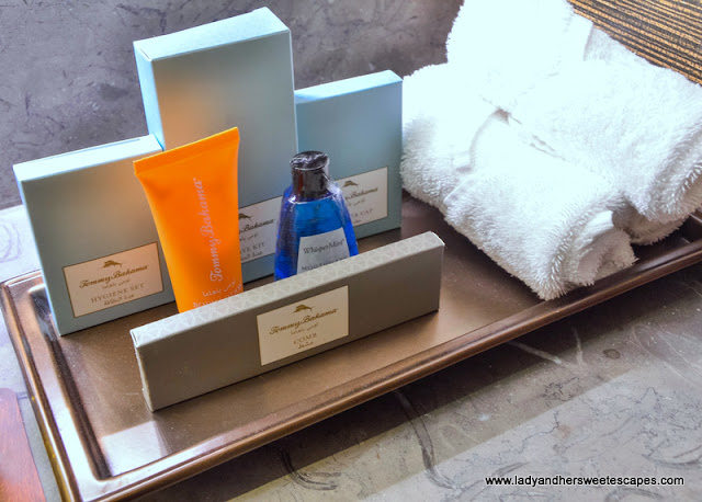 Tommy Bahama bath amenities