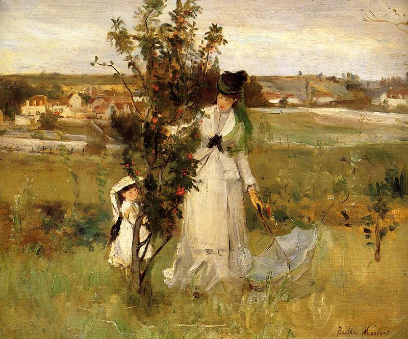 Hide And Seek. Berthe Morisot, 1873