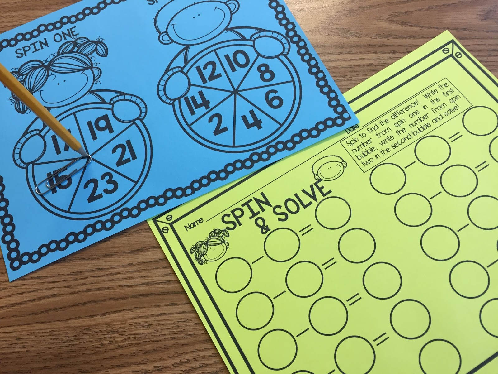 Just Add Glitter: Addition & Subtraction Math Facts