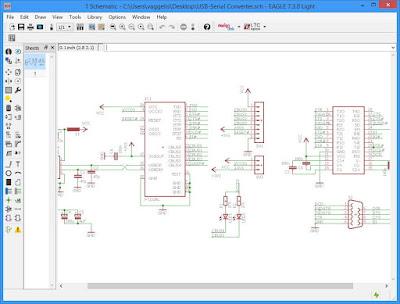 EAGLE Light Edition : Επαγγελματικός σχεδιασμός ηλεκτρονικού σχεδίου και τυπωμένων κυκλωμάτων