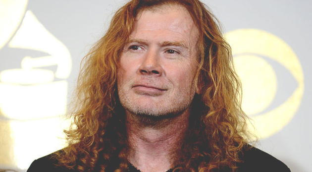dave mustaine 2017
