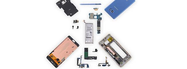 Tháo tung Samsung Galaxy Note 7 Fan Edition để thấy sự khác biệt với Note 7