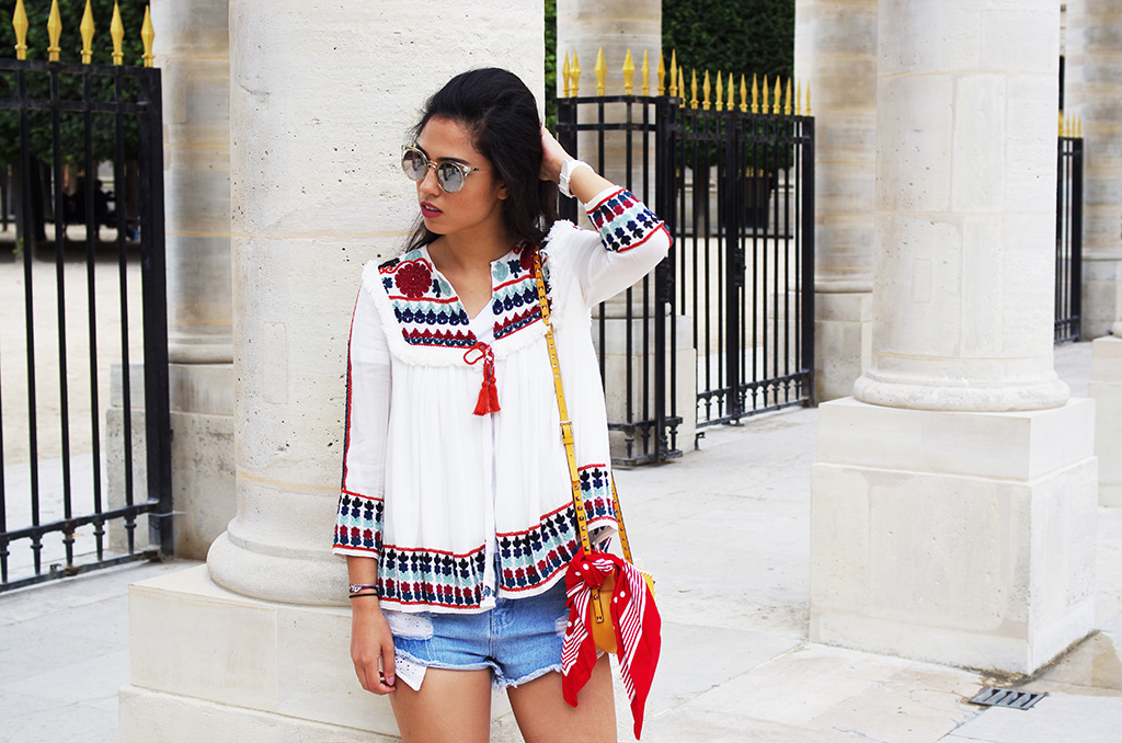 Elizabeth l Summer in Paris outfit l Zara Forever21 Valentino l THEDEETSONE l http://thedeetsone.blogspot.fr