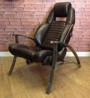 silla gamer de hierro