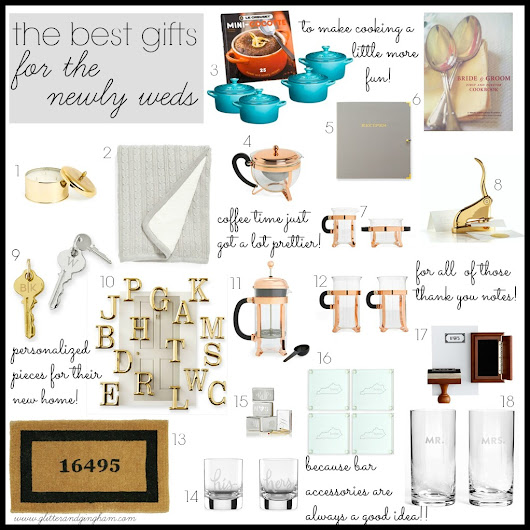 The Best Gifts For Newlyweds