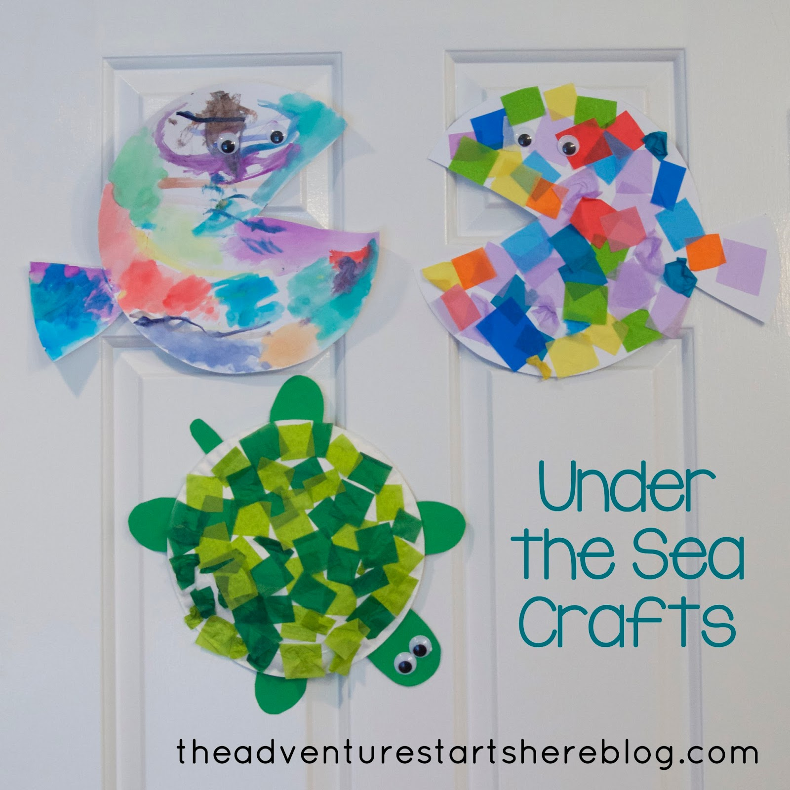The Adventure Starts Here Under The Sea Crafts