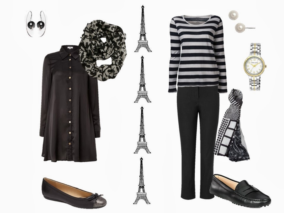 Classic outfits to wear in Paris