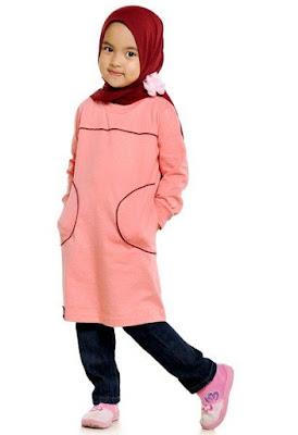 Tips Berpakaian Untuk Anak-Anak Pada Saat Lebaran