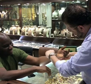 Photos: Did Hushpuppi's friend-turned enemy, Mompha buy a Rolex watch a day after splashing out N150m on Rolls-Royce Wraith 2018?