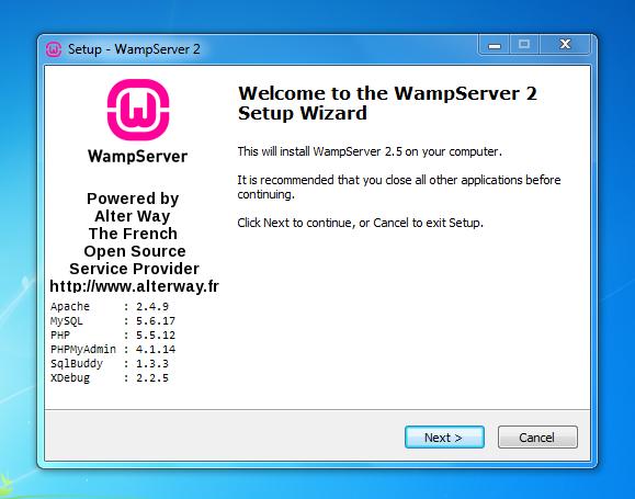 wampserver win7