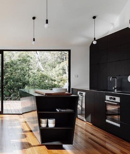 interior dapur rumah minimalis modern
