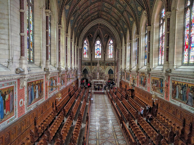 Interior of the church at St. Patrick's College in Maynooth, Ireland