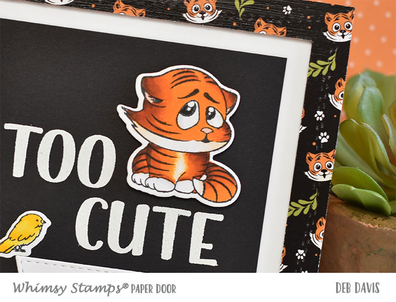 Tabby Tigers TOO CUTE for Words - NewAmped2Stamp