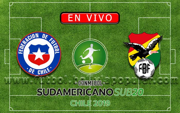 【En Vivo Online】Chile vs. Bolivia - Sudamericano Sub 20