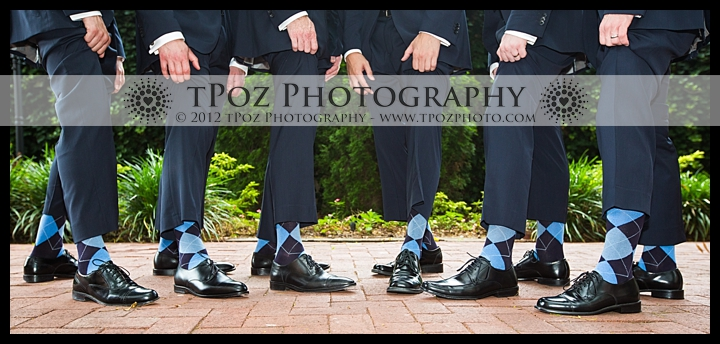 1840's Ballroom Wedding Groomsmen Socks