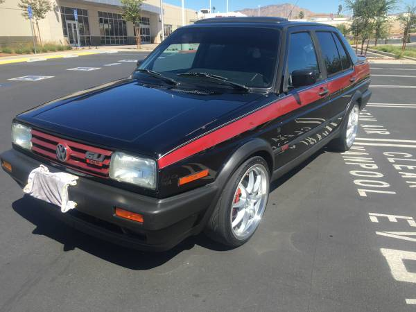 1990 vw jetta gli mk2 16v for sale volks classic trade. Black Bedroom Furniture Sets. Home Design Ideas