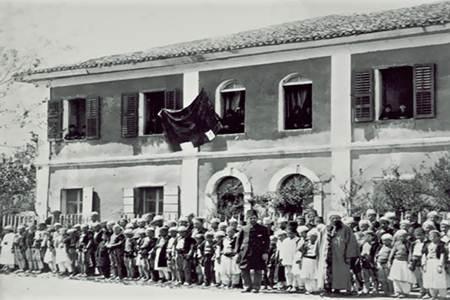 Shkolle ne Shkoder rreth vitit 1876
