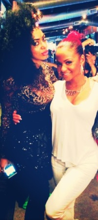 Dencia photo'd with Game and Christina Milian at ESPY party in L.A