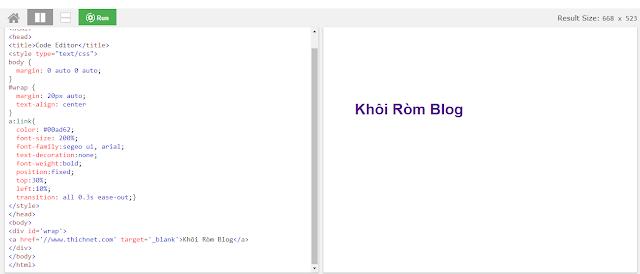 Code Editor Blogger Template