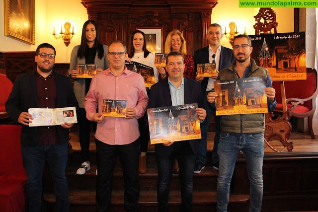El equipo de gobierno presenta el programa de actividades navideñas de Santa Cruz de La Palma