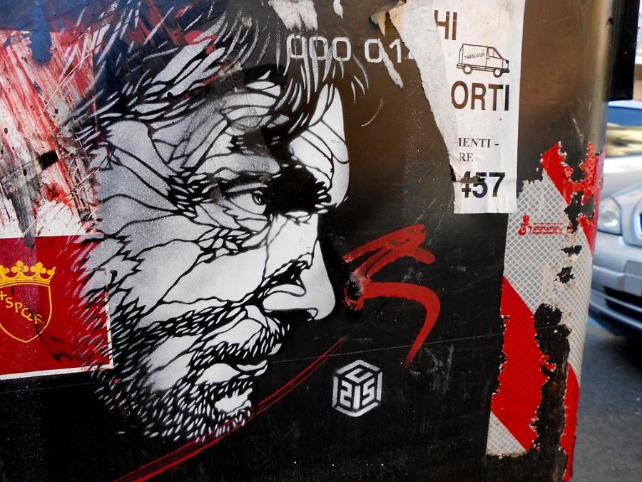 Уличное искусство Кристиана Гуеми (Christian Guémy aka C215) 53