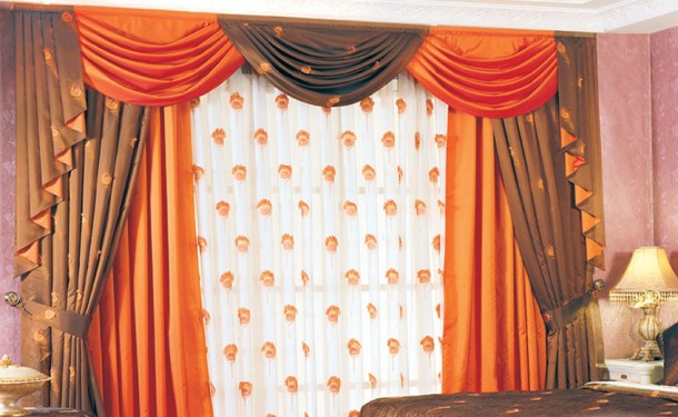 New home designs latest home curtain design 2012 for Household curtain design