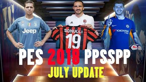 DOWNLOAD PES 2018 PSP PPSSPP ISO for Android APK Free