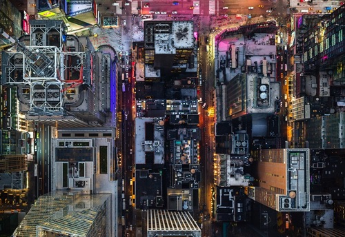 Jeffrey Milstein - NY Midtown | chidas fotos cool stuff - aerial photos of NYC