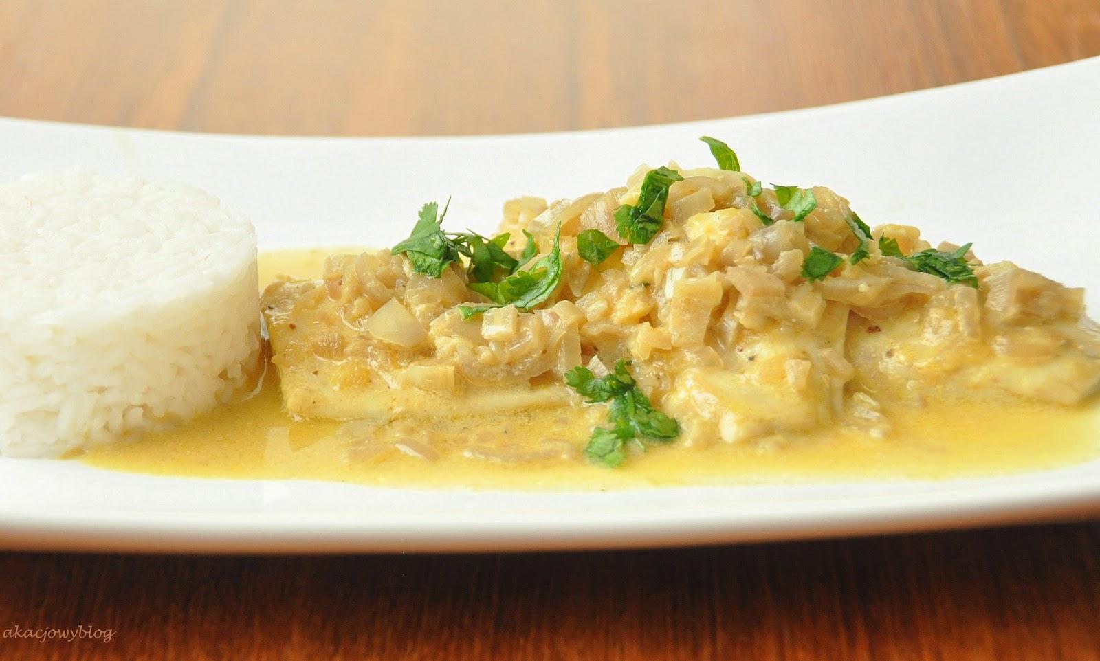 Rybne molee czyli aromatyczne curry.