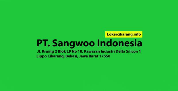Lowongan Kerja PT. Sangwoo Indonesia Terbaru Delta Silicon Cikarang