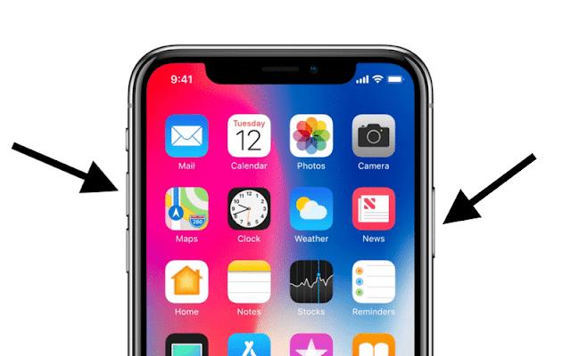 iPhone-X-Ekran-Görüntüsü-Alma