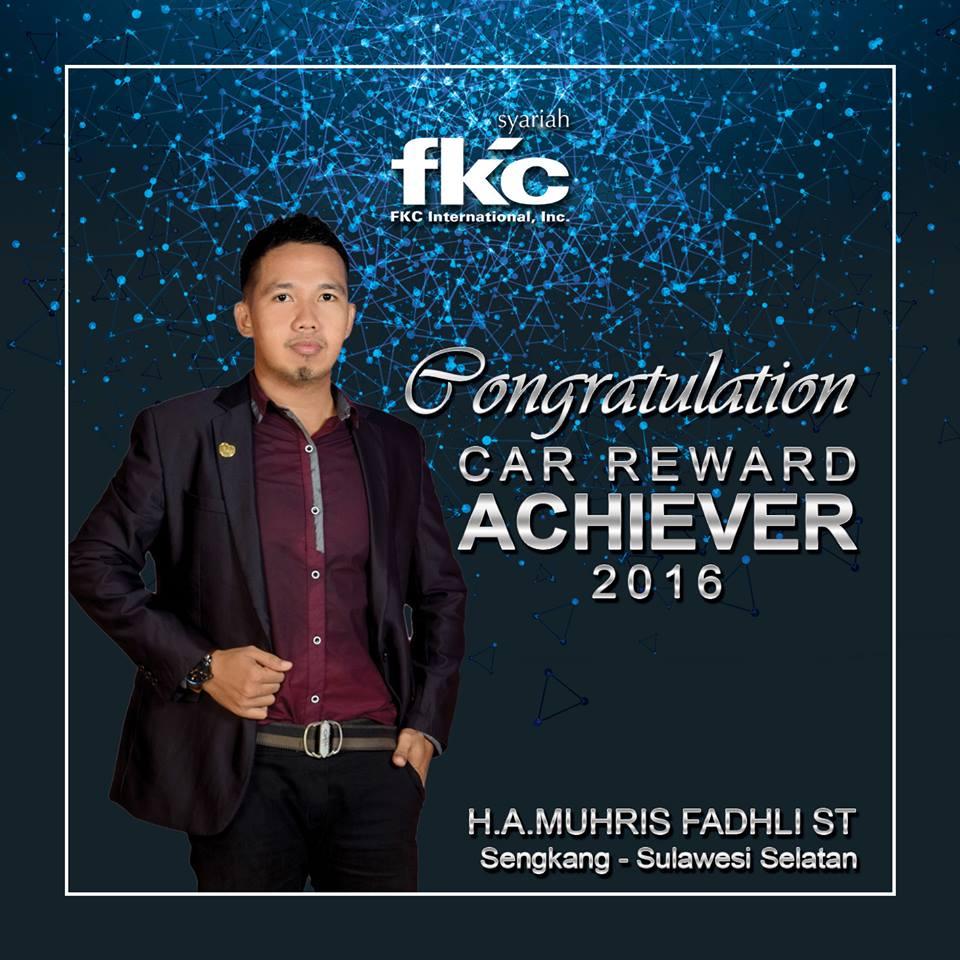 Bisnis Fkc Syariah - Reward H.A. Muhris Fadhli